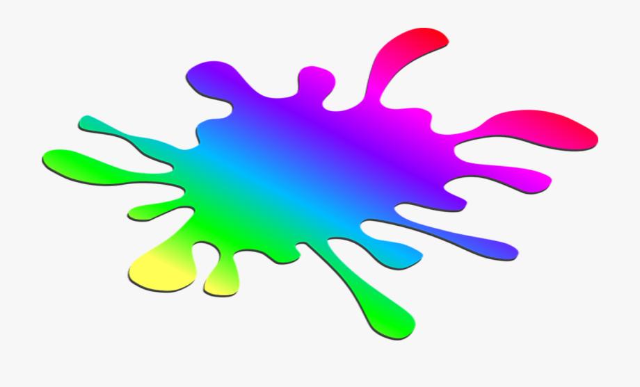 Rainbow Slime Clipart.
