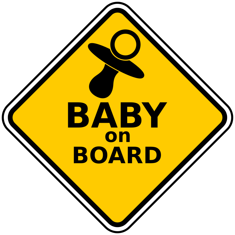 Baby On Board by Robert Ingil.