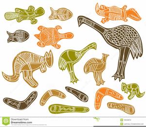 Aboriginal Art Clipart Free.