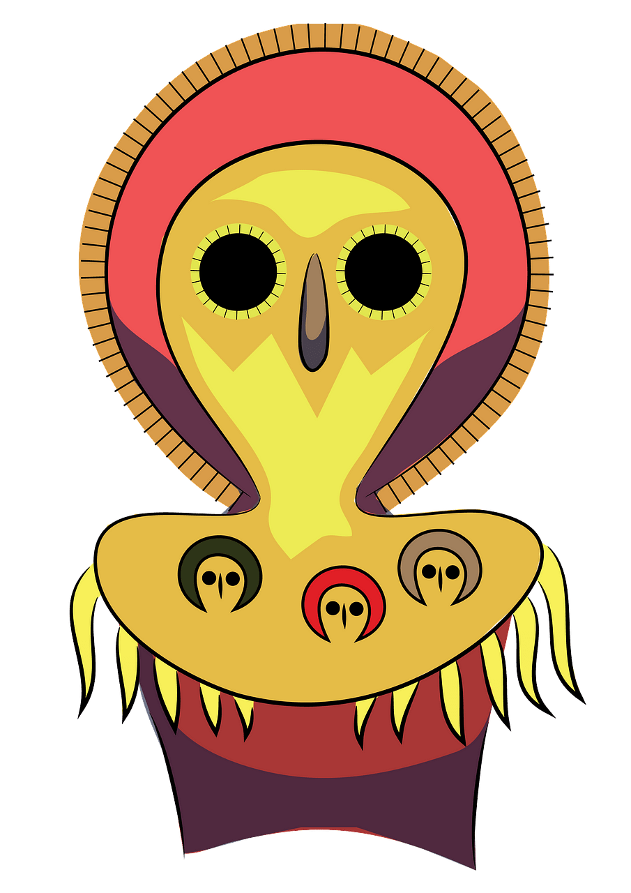 Aboriginal Art Owl clipart. Free download..