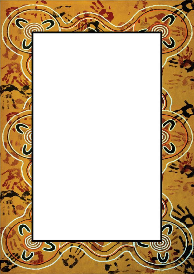 Free Aboriginal Clipart Borders.