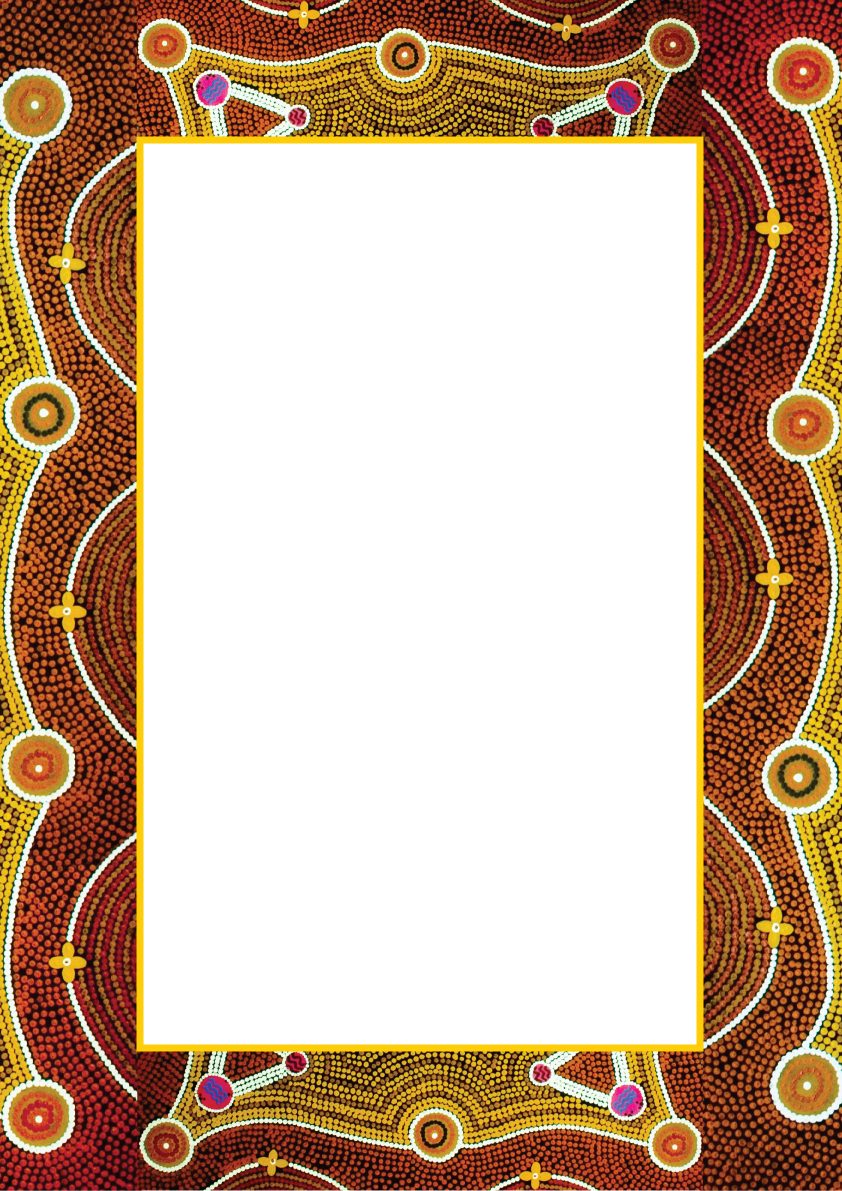 General Health Aboriginal Artwork Elements Copyright Free.