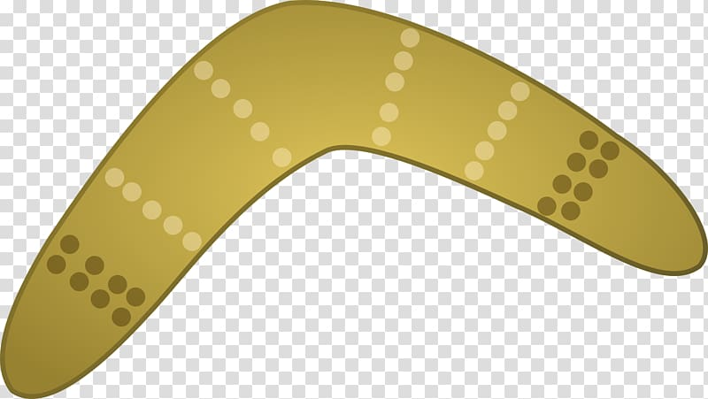 Boomerang , aboriginal transparent background PNG clipart.