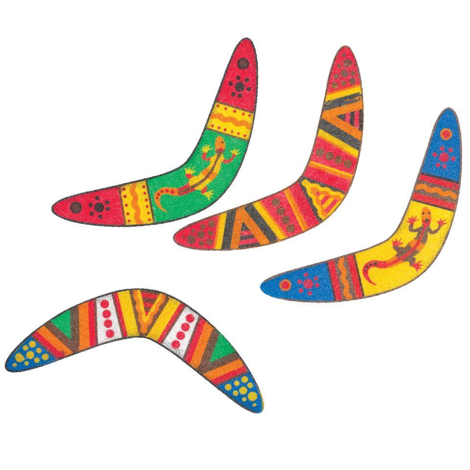 australian Boomerang craft.