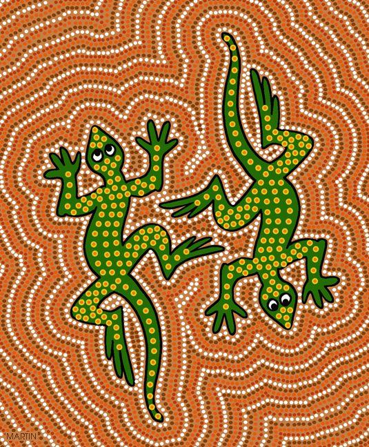 Free Australia Clip Art by Phillip Martin, Aboriginal Art.