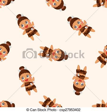 Vector Clipart of Aborigines theme elements csp27953402.
