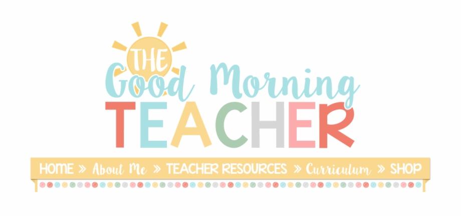 Clip Art Images Good Morning Teacher Logo.