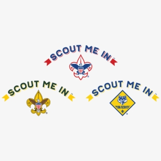 Boy Scouts Scout Me In Logo , Transparent Cartoon, Free.