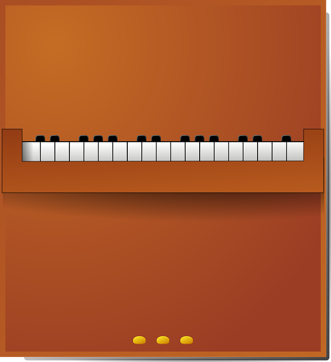 Free vector graphic: Piano, Keys, Music, Pedals, Brown.