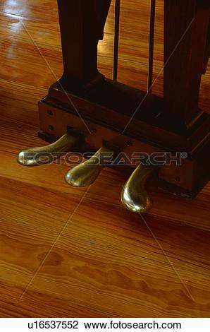 Stock Photo of Piano pedals u16537552.
