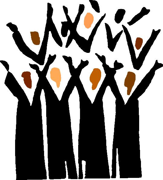 Choir Singers Clipart.