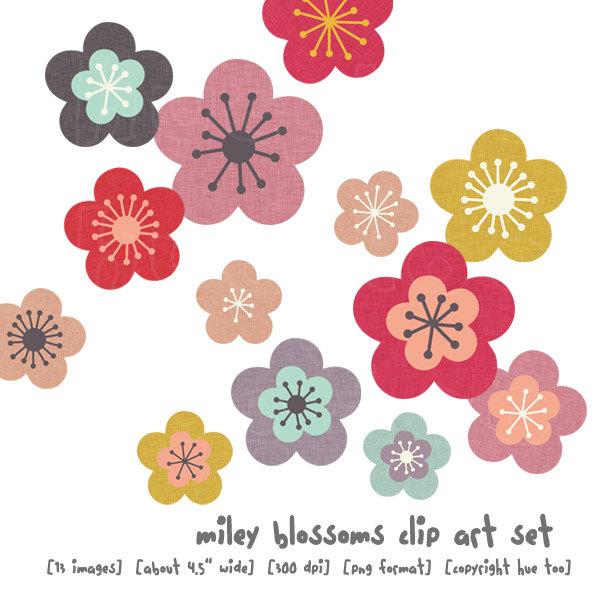 Blossom Flower Clipart.