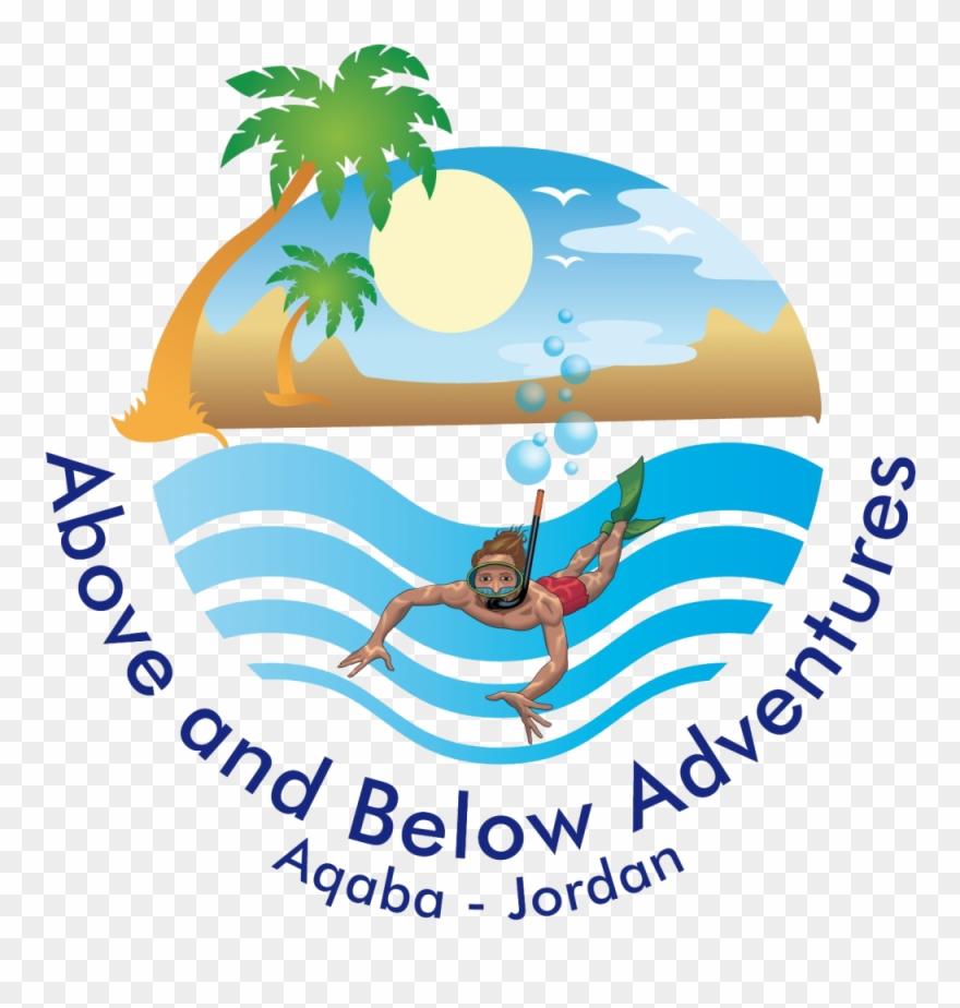 Above And Below Logo Clipart (#3340523).