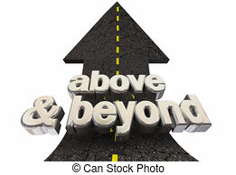 Above and beyond Illustrations and Clipart. 111 Above and beyond.