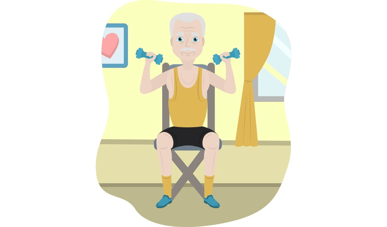 21 Chair Exercises for Seniors: Complete Visual Guide.
