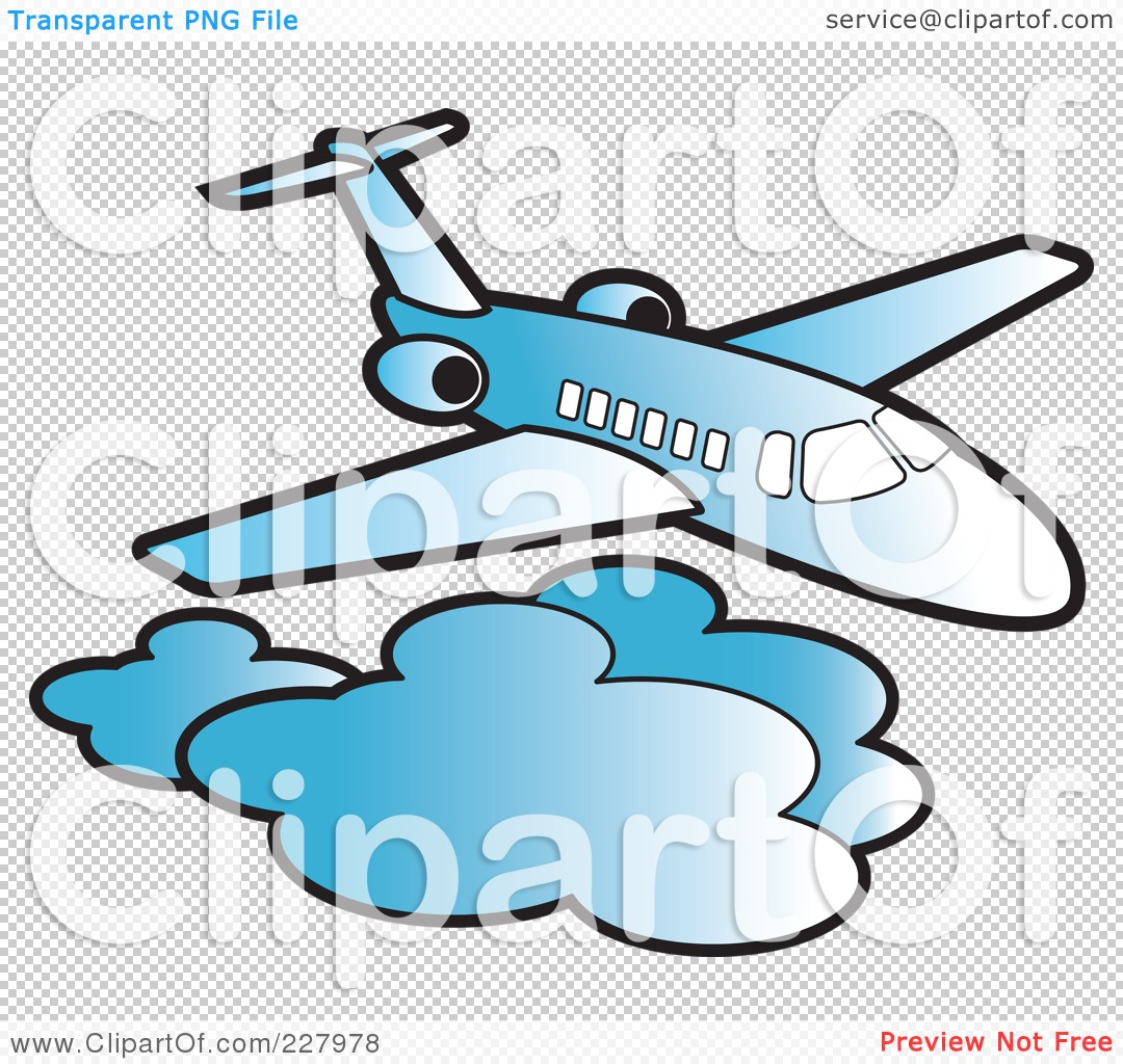 Above The Clouds Clipart.