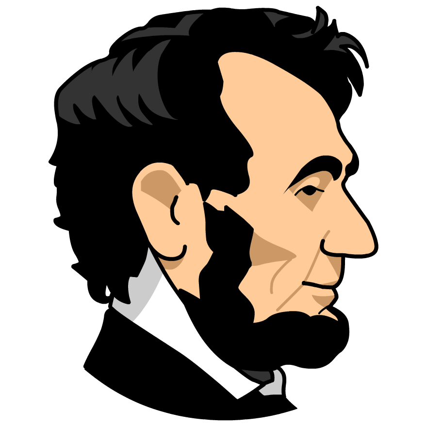 Abe Lincoln Clip Art.