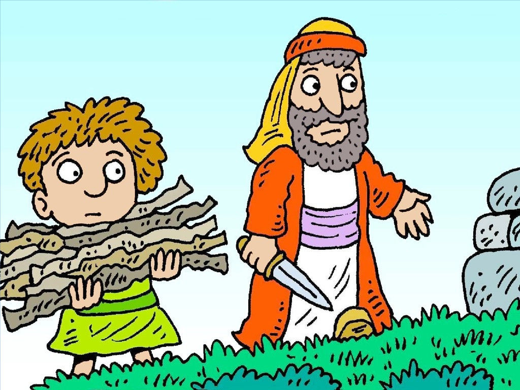 FreeBibleimages :: Abraham and Isaac :: God tests Abraham\'s.