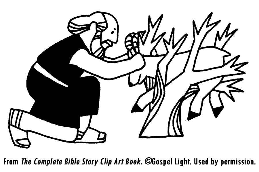 Abraham And Sarah Bible Clip Art.