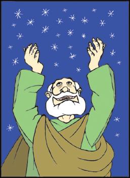 Abraham Praying Cliparts.