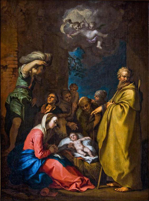 Abraham Bloemaert: De aanbidding van de herders.