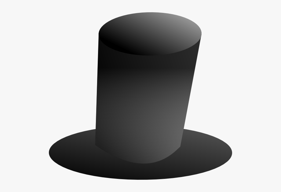 Tall Top Hat Clip Art.