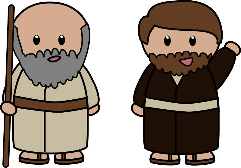 Father abraham clipart.
