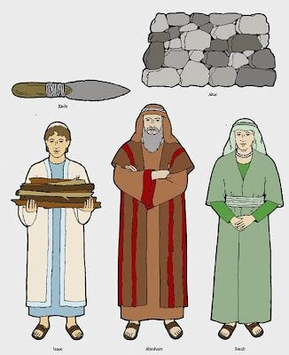 Abraham Isaac And Jacob Clipart.