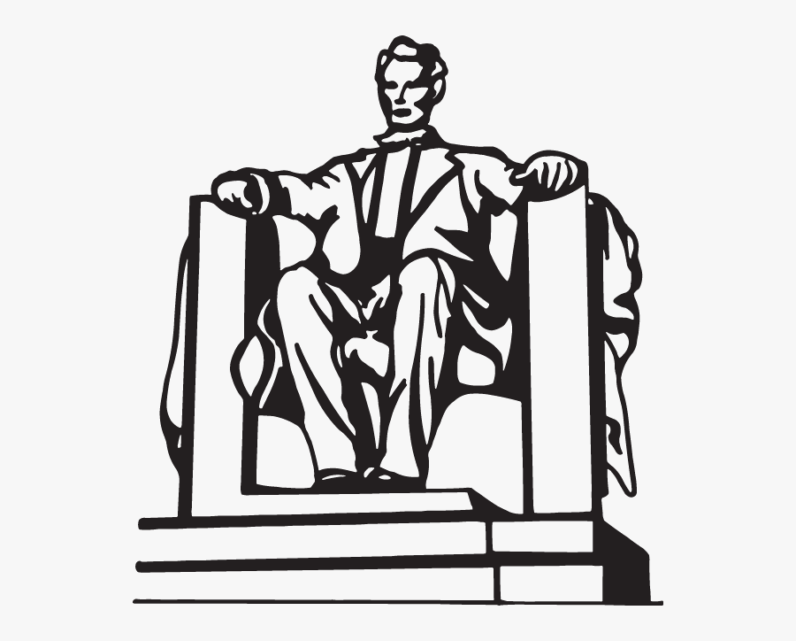 Download Lincoln Memorial Black And White Clipart Lincoln.