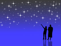 Counting Stars Clipart.