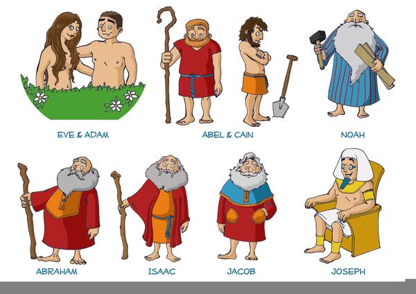Bible Characters Joseph Clipart.