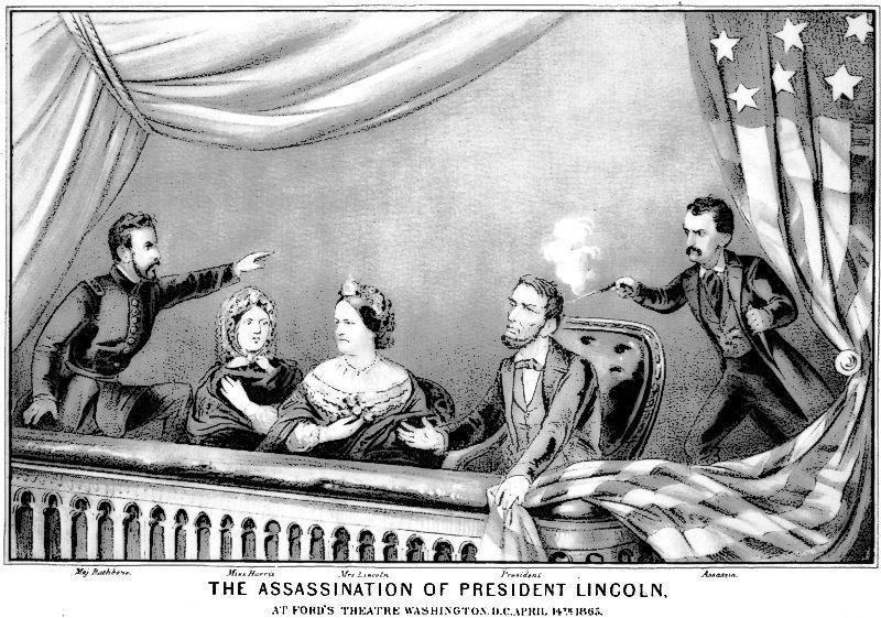 Abraham lincoln clipart assassination, Abraham lincoln.