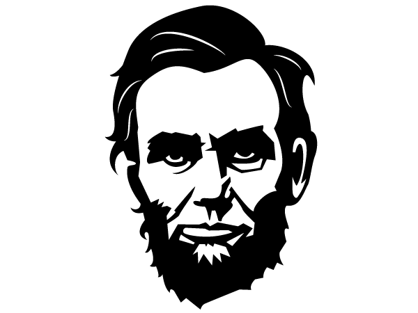 Abraham lincoln clipart no background.