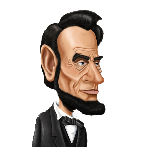Washington And Lincoln Clipart.