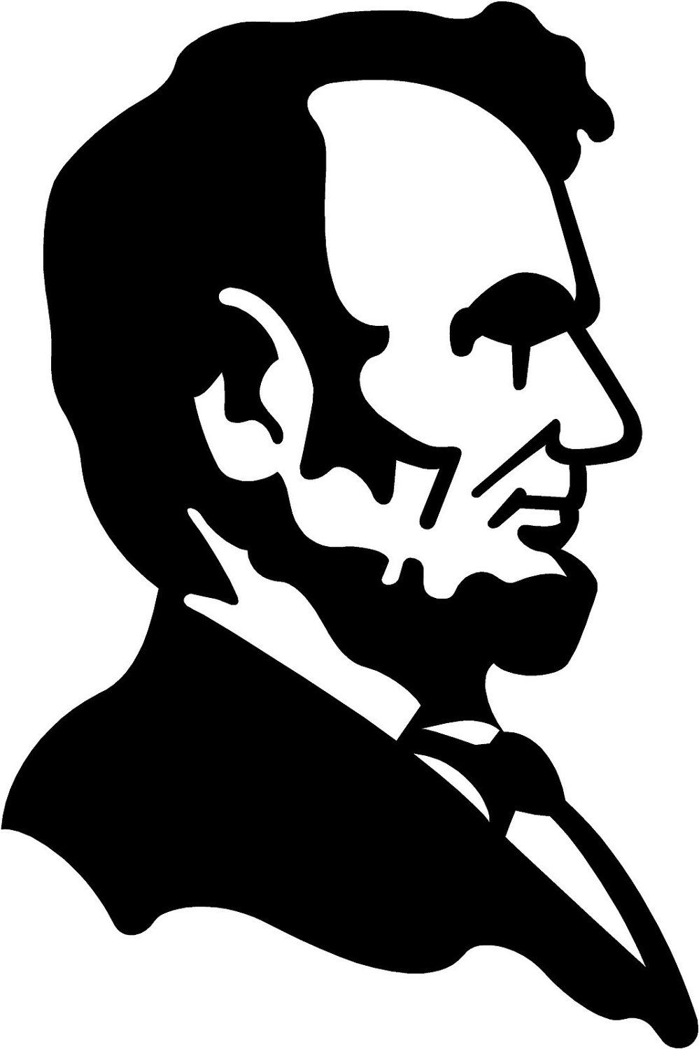 printable pictures of abraham lincoln.