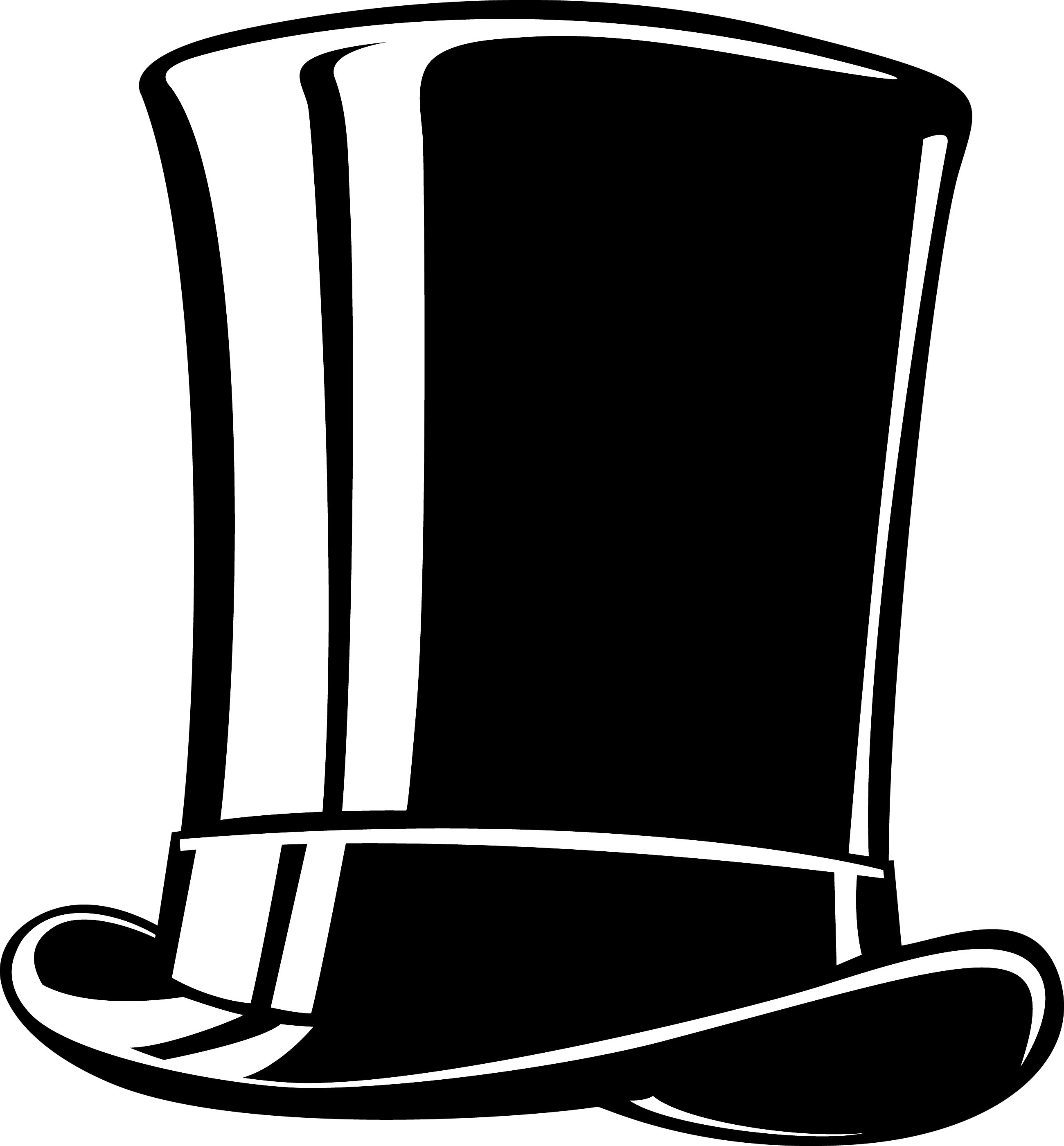 Abraham lincoln clipart lincoln top hat, Abraham lincoln.