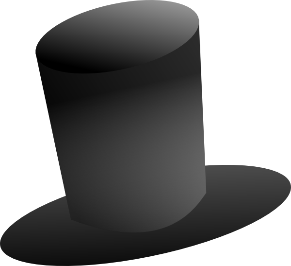 Top Hat Clipart Abraham Lincoln Top Hat Without.