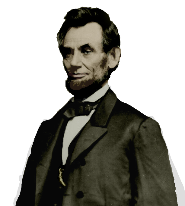 Abraham Lincoln PNG Image.