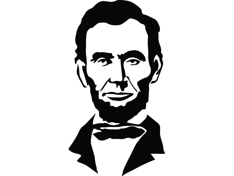 Abraham Lincoln PNG Photo.