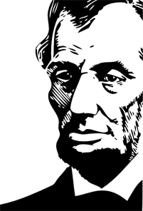 Abraham Lincoln PNG, SVG Clip art for Web.