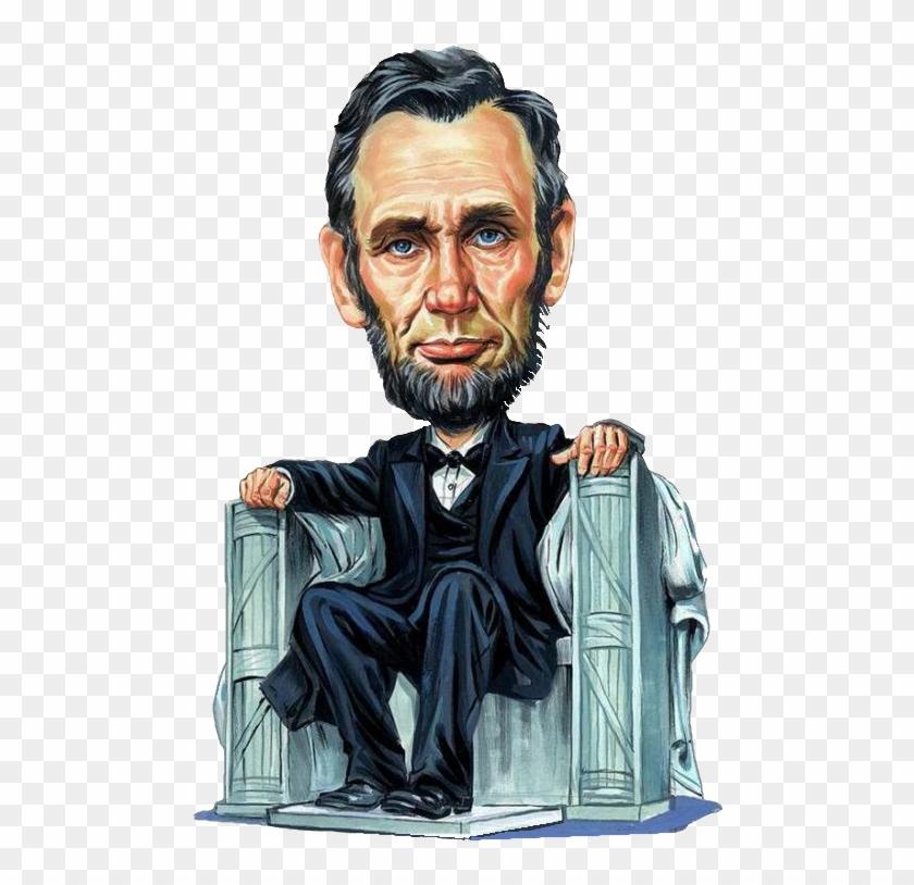 Abraham Lincoln Transparent Background.