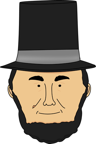 The best free Lincoln clipart images. Download from 127 free.