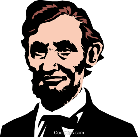 Abraham Lincoln PNG Image File.
