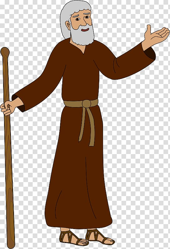 Bible Disciple Apostle , Abraham transparent background PNG.