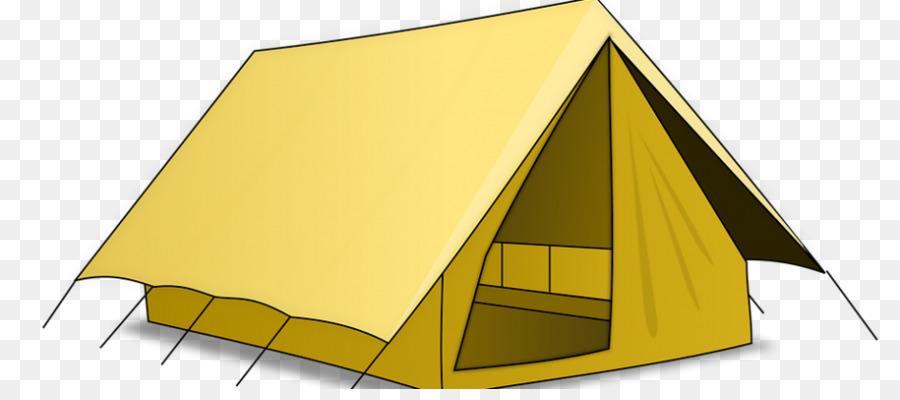 Tent Cartoon.