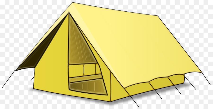 Camping Cartoon.