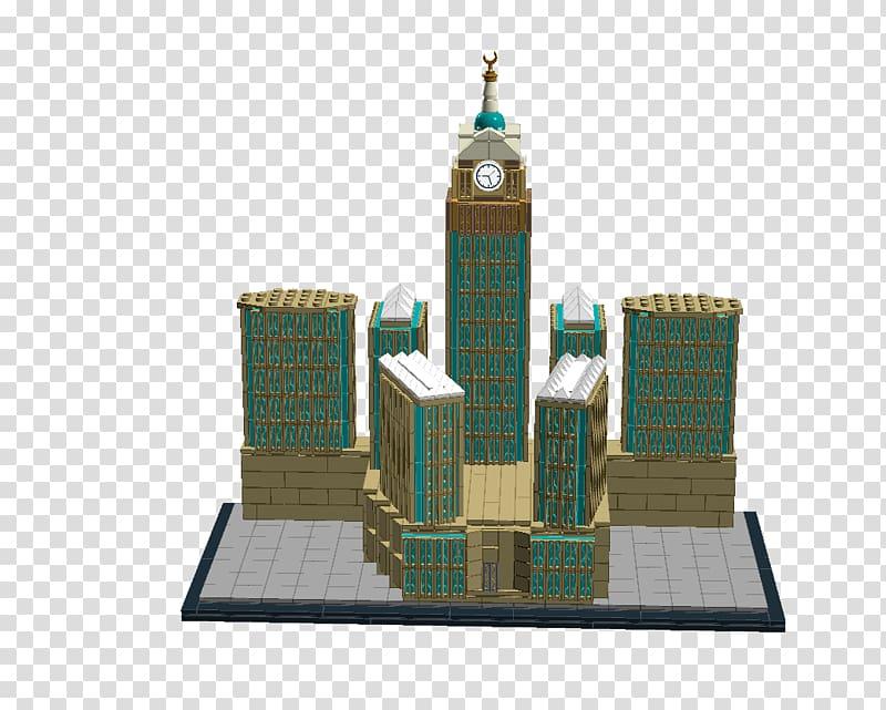 Abraj Al Bait Makkah Royal Clock Tower Hotel CN Tower.