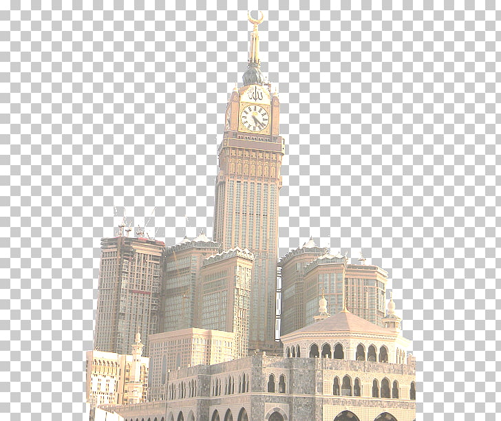 Abraj Al Bait Great Mosque of Mecca Kaaba Makkah Royal Clock.