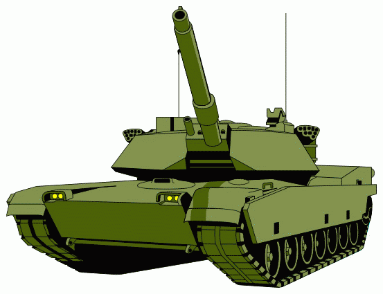 Battle tank clipart.