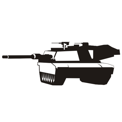 Abrams tank, Vector Images.